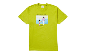 SUPREME HEAVEN AND EARTH TEE [FW19T9-LIME]