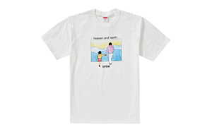 SUPREME HEAVEN AND EARTH TEE [FW19T9-WHITE]