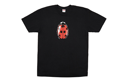 SUPREME LADY BUG TEE [SS18T32-BLK]