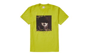 SUPREME MARY J BLIGE TEE [FW19T23-LIME]