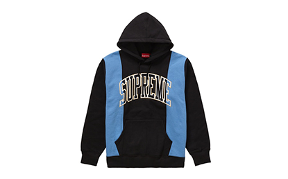 SUPREME PANELED ARC HOODED [FW19SW33-BLUE]