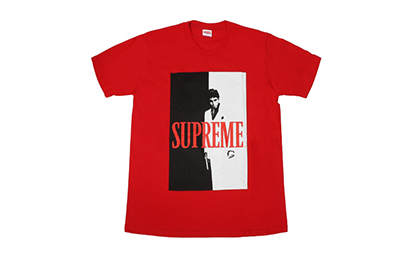 "SUPREME X SCARFACE ""FRIENDS "" TEE [FW17T15-RED]"