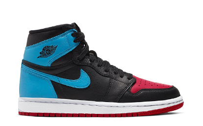 WMNS AIR JORDAN 1 HIGH OG UNC CHICAGO LEATHER [CD0461 046]