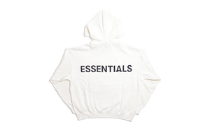 FEAR OF GOD ESSENTIALS 3M LOGO HOOD WHITE [567840]