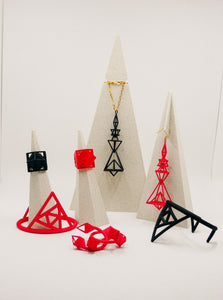 Pyramid - Black and Red - Full Collection