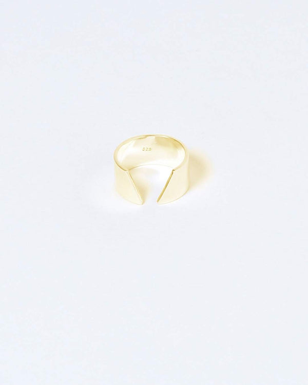 SLOPE RING-eios jewelry