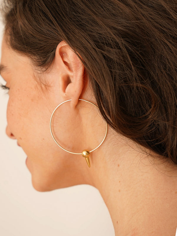 ODIOUS EARRINGS GOLD-eios jewelry