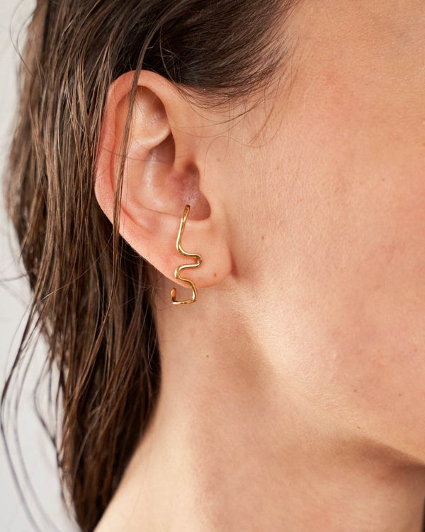 MORA EARRING GOLD-eios jewelry
