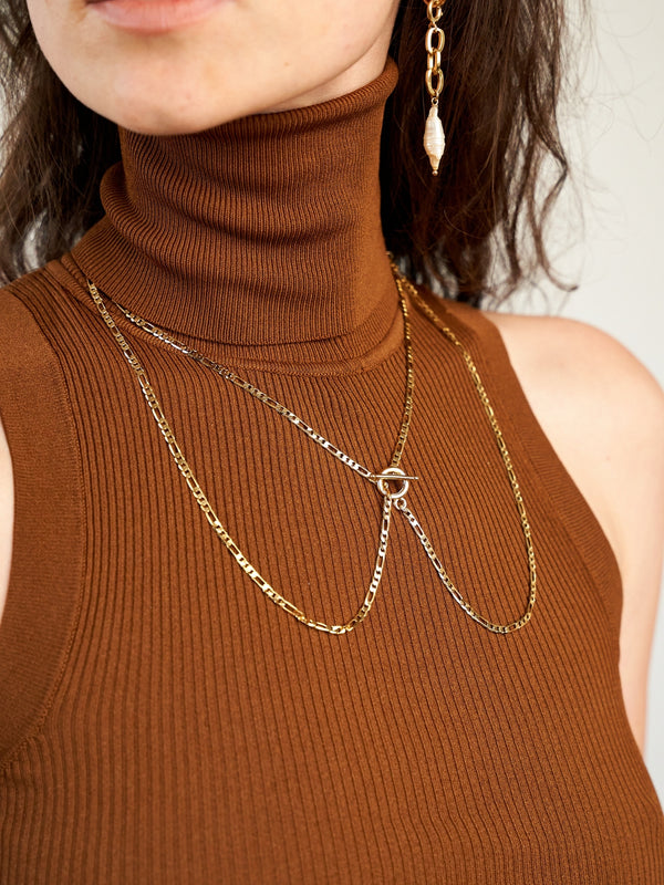 TESSA GOLD NECKLACE-eios jewelry