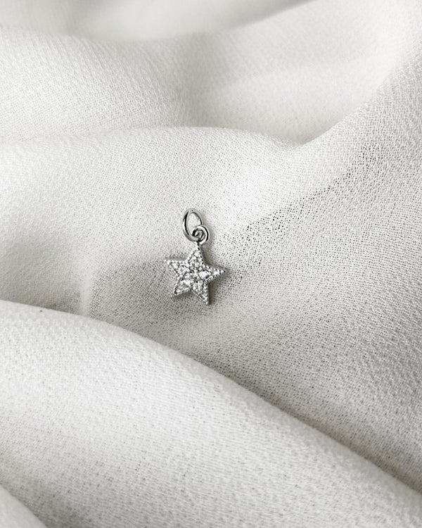 STUDDED STAR CHARM-eios jewelry