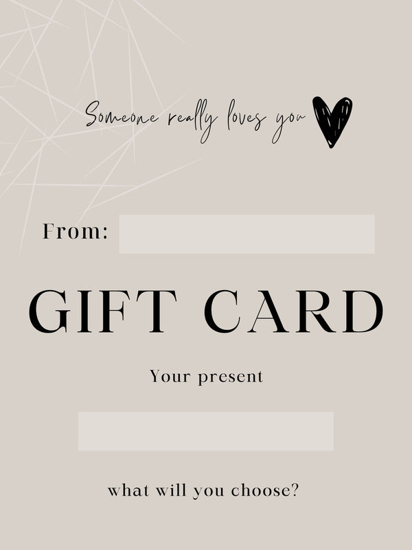 GIFT CARD-eios jewelry