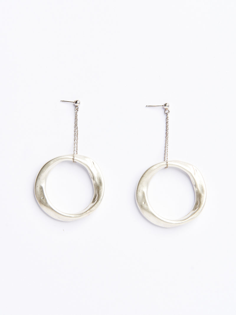 CONEY SILVER EARRINGS-eios jewelry