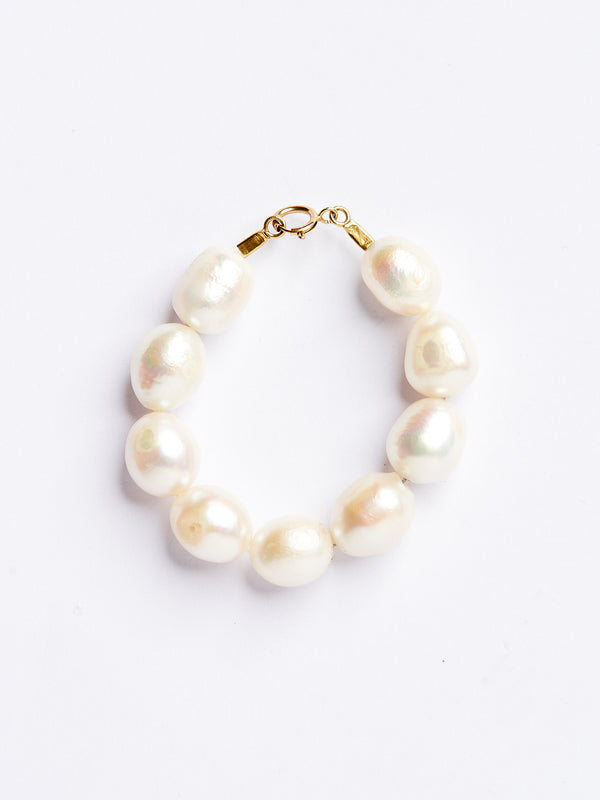 ROUND PEARLS GOLD PENDANT-eios jewelry
