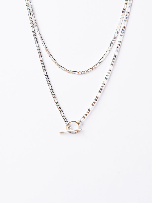TESSA SILVER NECKLACE-eios jewelry