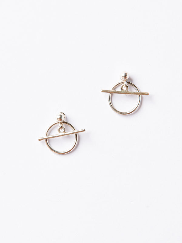 ALBUS EARRINGS SILVER-eios jewelry