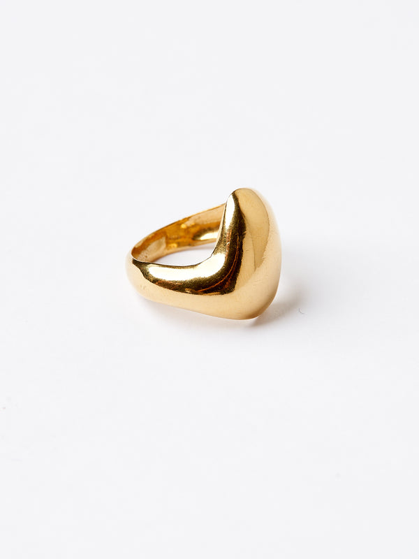 WAVE RING GOLD-eios jewelry