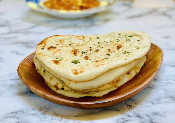 Curbside 印度薄餅 Hand made Garlic Naan 2片/份