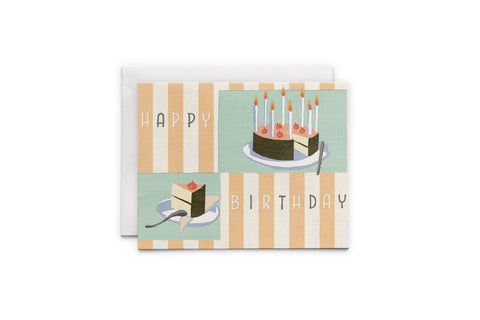 Birthday Cake - Happy Birthday Greeting Card