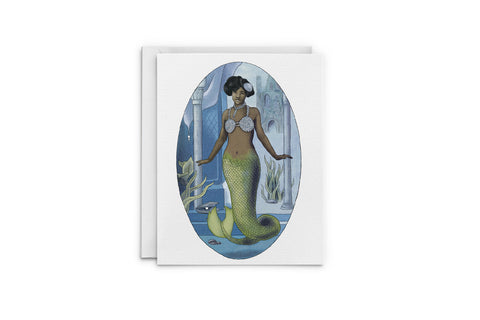 Princess of Atlantis Greeting Card