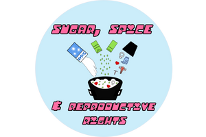 Sugar, Spice & Reproductive Rights Sticker