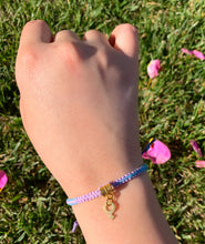 "Load image into Gallery viewer, ""Girls Can"" Hemp Bracelet *Limited Edition*"