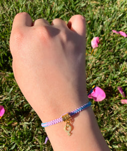 """Girls Can"" Hemp Bracelet *Limited Edition*"