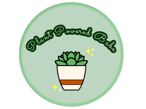 Plant Powered Babe Sticker