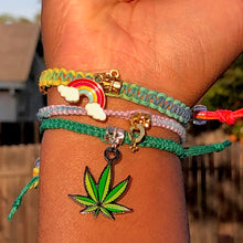 "Load image into Gallery viewer, ""Got Pride?"" Hemp Bracelet *Limited Edition*"