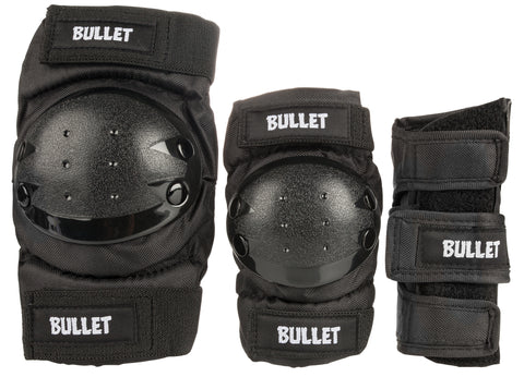 Bullet Triple Combo Junior Padset (Black)