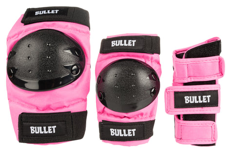 Bullet Triple Combo Junior Padset (Pink)