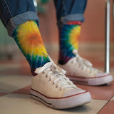 American Socks Flower Power Tie Dye - Mid High