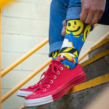 American Socks Smiley - Mid High