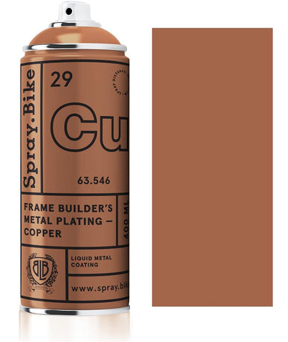 Spray.Bike Frame Builder's Metal Plating - Copper - 400ml