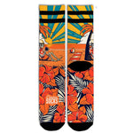 American Socks Summer Paradise - Mid High