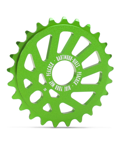 Dartmoor Peacock Sprocket (Green)