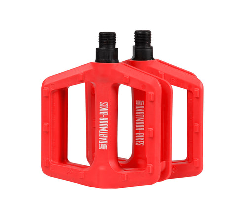 Dartmoor Candy Pedals (Red)