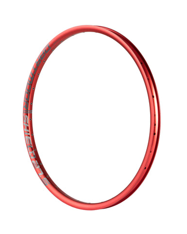 "Dartmoor Shield 26"" Rim (Matt Red)"