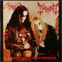 Morbid / Mayhem - A Tribute To The Black Emperors (Red Vinyl)