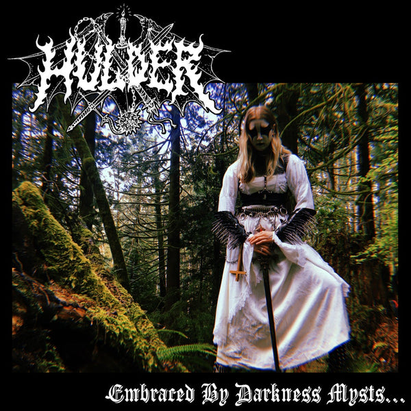 "Hulder - Embraced by Darkness Mysts 7"" (CLEAR TRANSPARENT VINYL)"