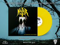Natur - Afternoon Nightmare (Yellow Vinyl) PRE-ORDER