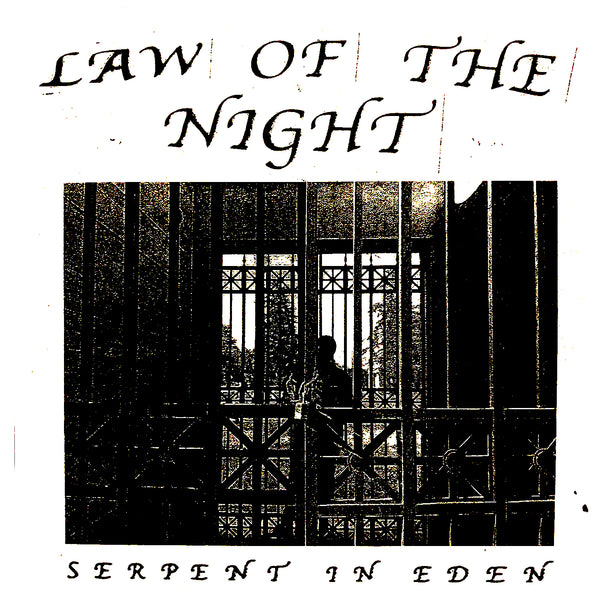 Law Of The Night - Serpent In Eden 7""