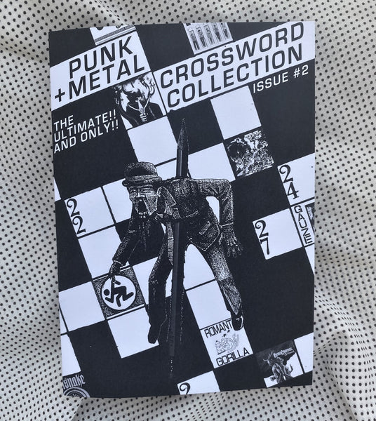 Punk + Metal Crossword Collection Issue 2 Fanzine