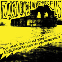 Flooded Church Of Asmodeus ‎- Piss Soaked Church Of The Wrong (Black vinyl)