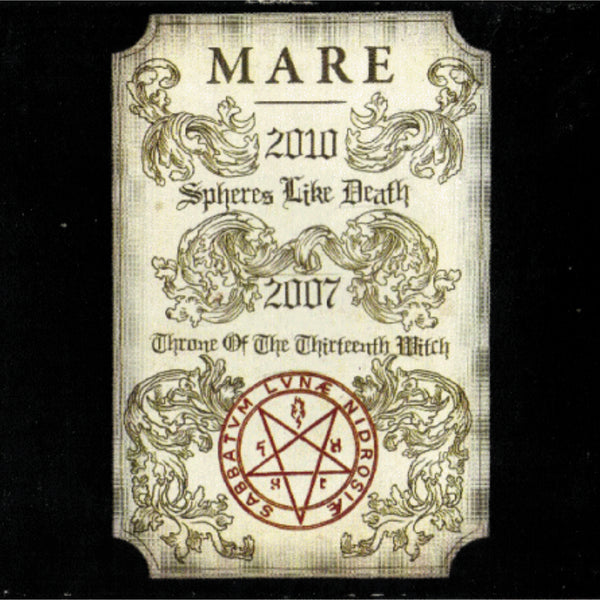 Mare - Spheres Like Death (Black Vinyl)