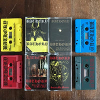 Bathory - 4 x TAPE SET