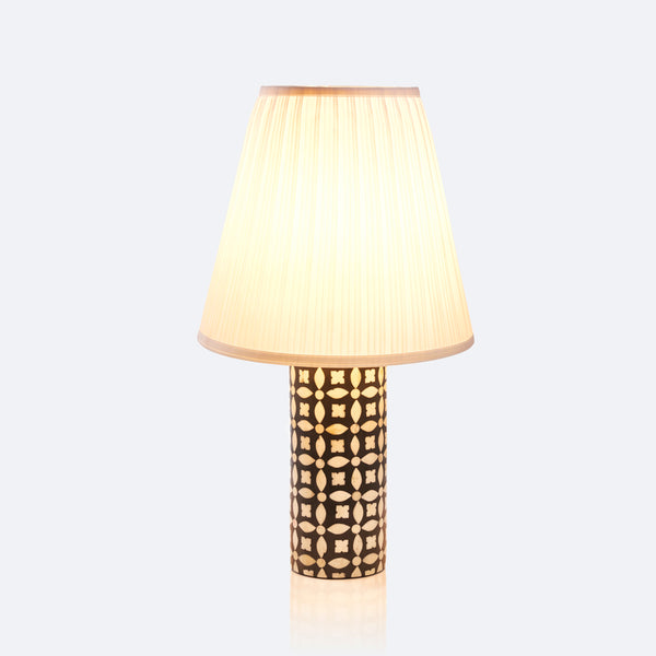 Table Lamp - Geometric Pattern
