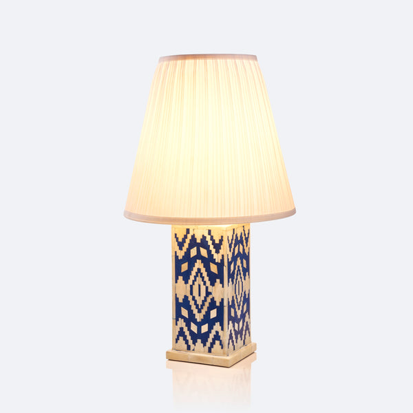 Table Lamp - Ikat Pattern