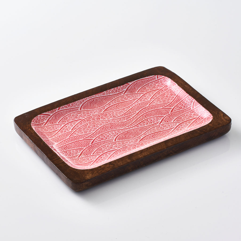 Rectangular Serving Tray - Red Dunes