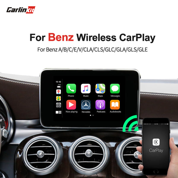 Carlinkit Wireless Apple carplay for Mercedes Benz carplay NTG 4.5 4.7 5.0+