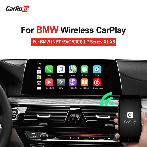 CIC NBT EVO wireless apple Carplay Android smart multimedia video interface carplay for BMW